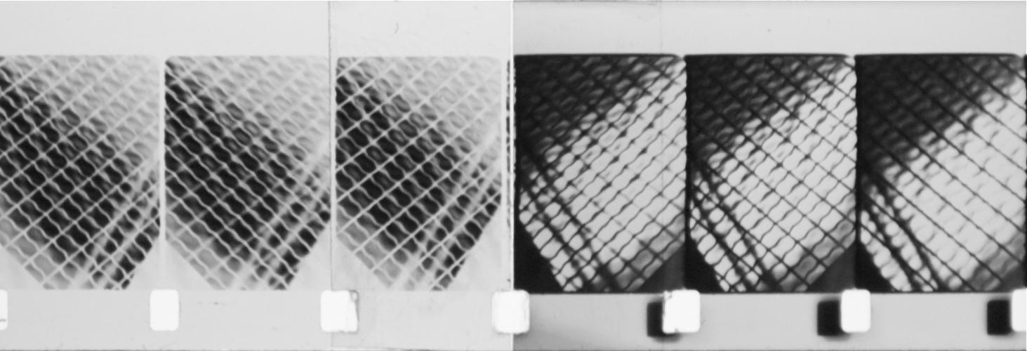 Meshes three frames